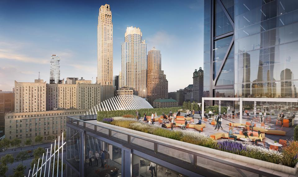 A 17th floor terrace will be open to all tenants.