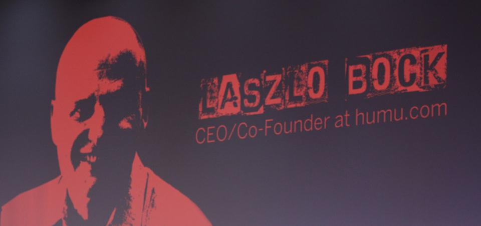 Best-selling author, and co-founder and CEO of humu.com, Laszlo Bock made the case to HR for science, data and love during SuccessConnect Berlin.