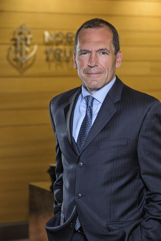 Northern Trust president, Pete Cherecwich.