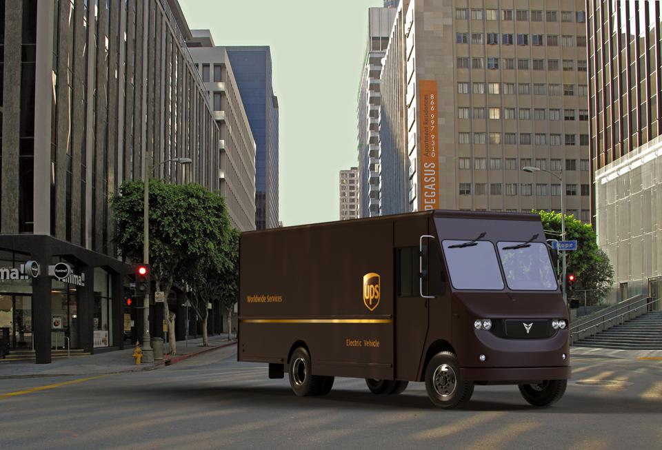 Los Angeles startup Thor will initially supply two all-electric Class-6 delivery vans for testing by UPS in the area this year.