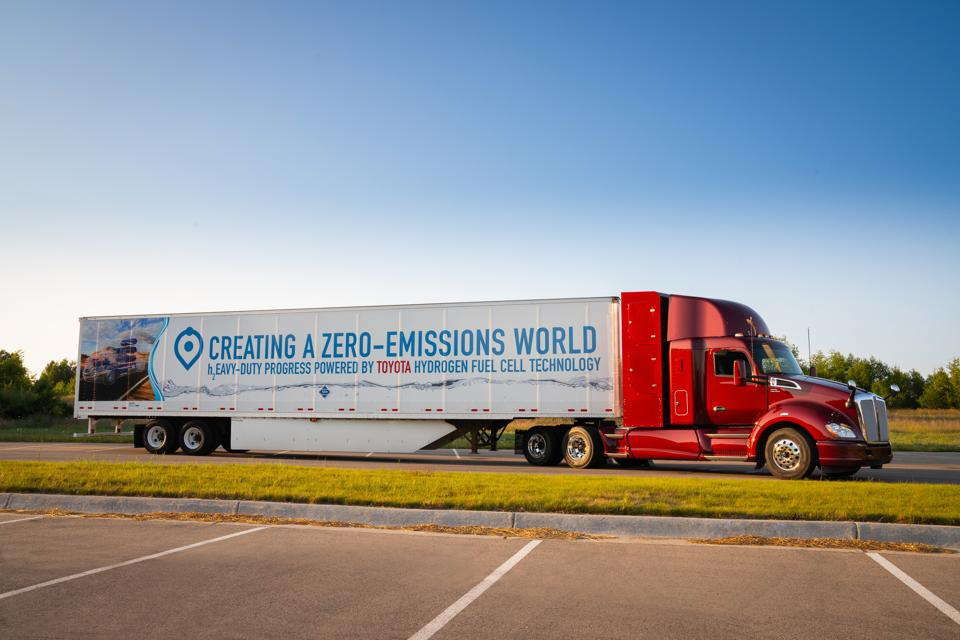 Would-Be Tesla Semi Rival Thor Gets Rolling With Electric