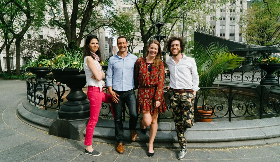 The Fund's cofounders Jenny Fielding, Katie Hunt, Adam Carver and Matthew Brimer