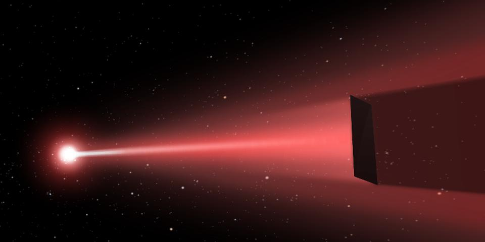 The DEEP laser-sail concept could use a space-based laser array to accelerate spacecraft.