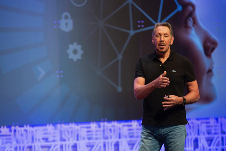 Larry Ellison, Oracle's executive chairman and CTO, says Oracle Autonomous Database constantly adjusts compute capacity used—while apps are running.