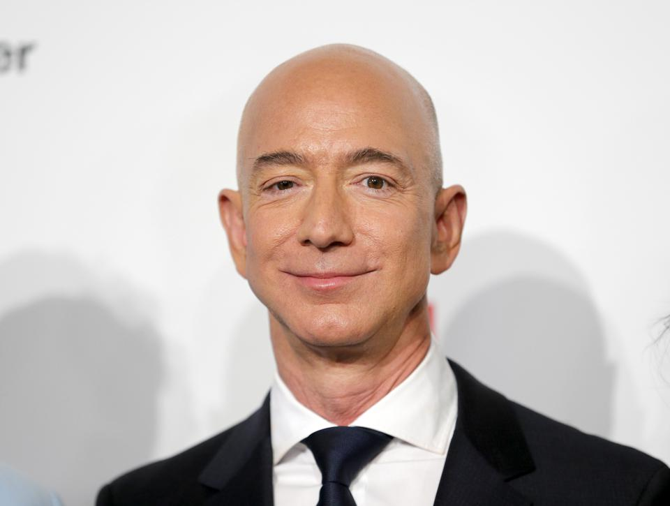 Jeff Bezos Is   Billion Richer As Amazons Market Cap Briefly Hits  Trillion