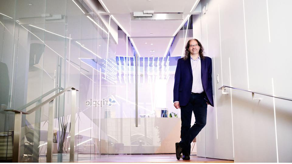 New CTO David Schwartz at Ripple's San Francisco headquarters in June.