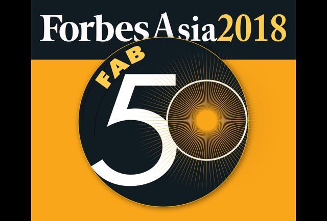 Asia's Fab 50 Companies List
