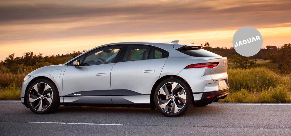Shock and Awe: The Jaguar iPace can go nearly 240 miles on a single charge.