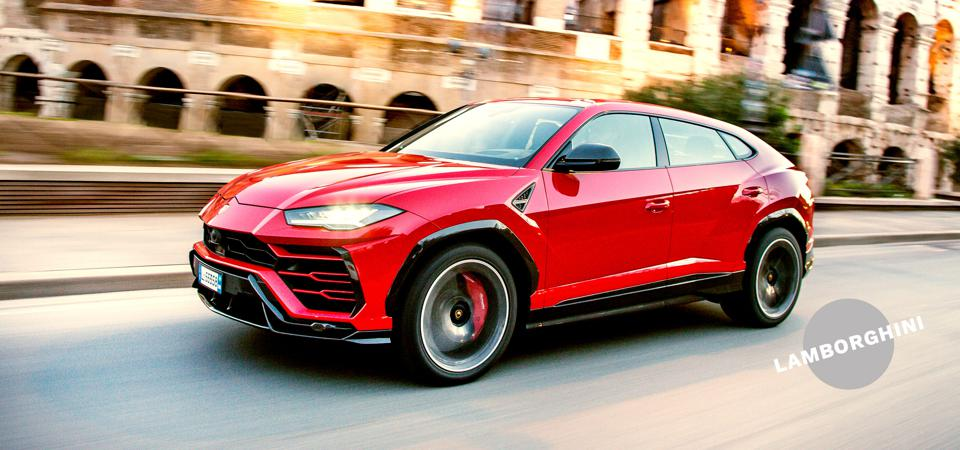 Rolling with the Bulls: The Lamborghini Urus packs a 4.0-liter 650 hp twin-turbocharged V8 engine.