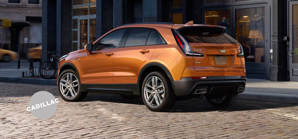Hello, Caddy: The XT4's Driver Select Mode function allows a driver to fine-tune the car's dynamics.