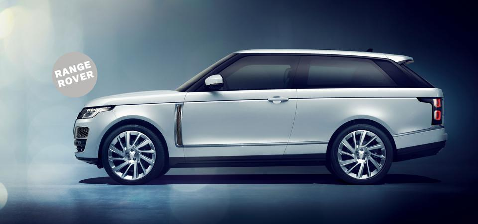 Coupe Dreams: The $295,000 Range Rover SV Coupe is highly customizable.