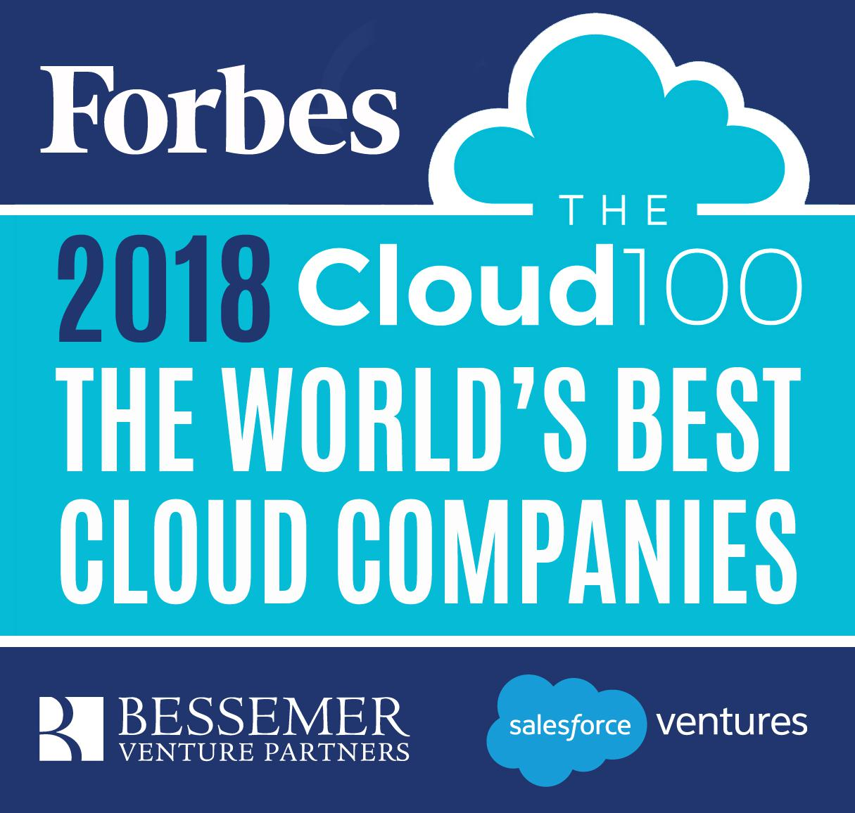 2018 Forbs Cloud 100