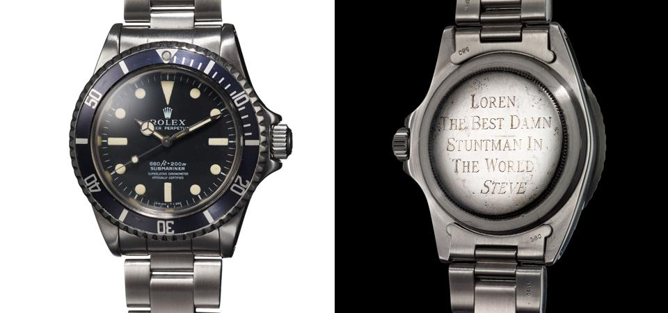 Phillips Withdraws Steve McQueen's Rolex Submariner From Auction Amid Conflict With The McQueen Estate