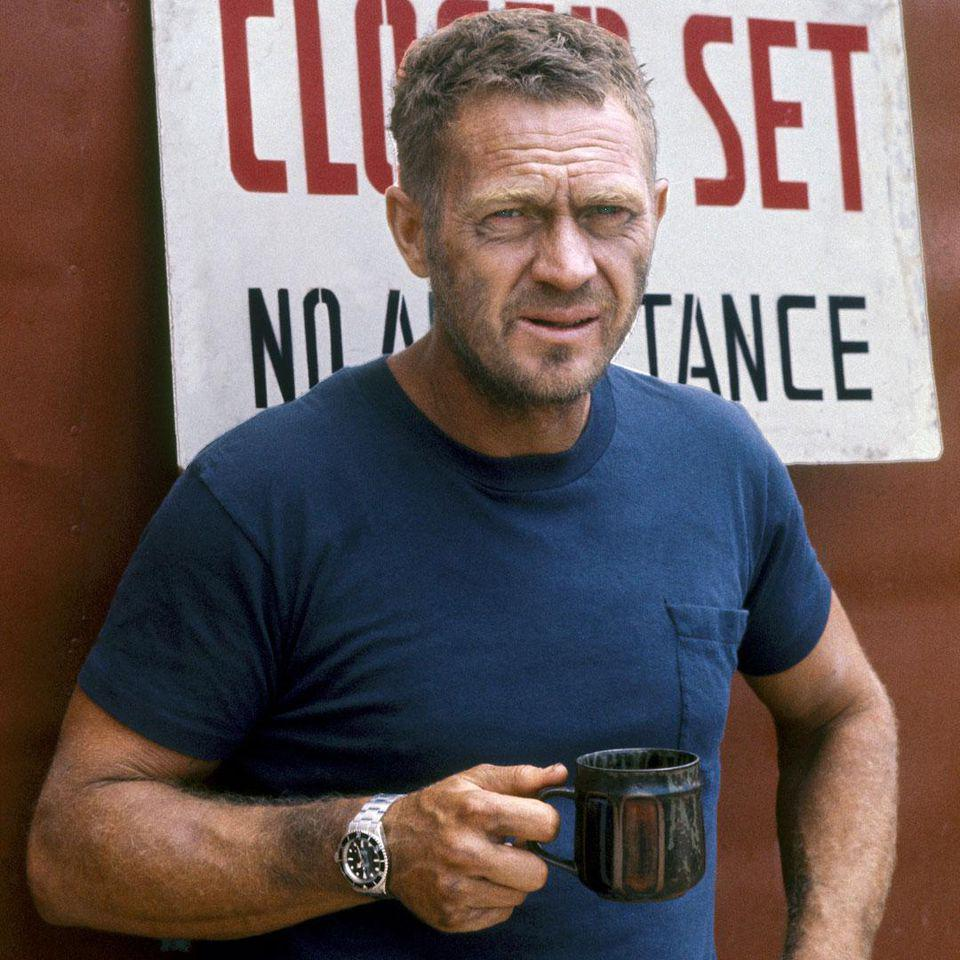The Great Escapement: McQueen, on the set of 'Papillon' wearing another Submariner he owned.