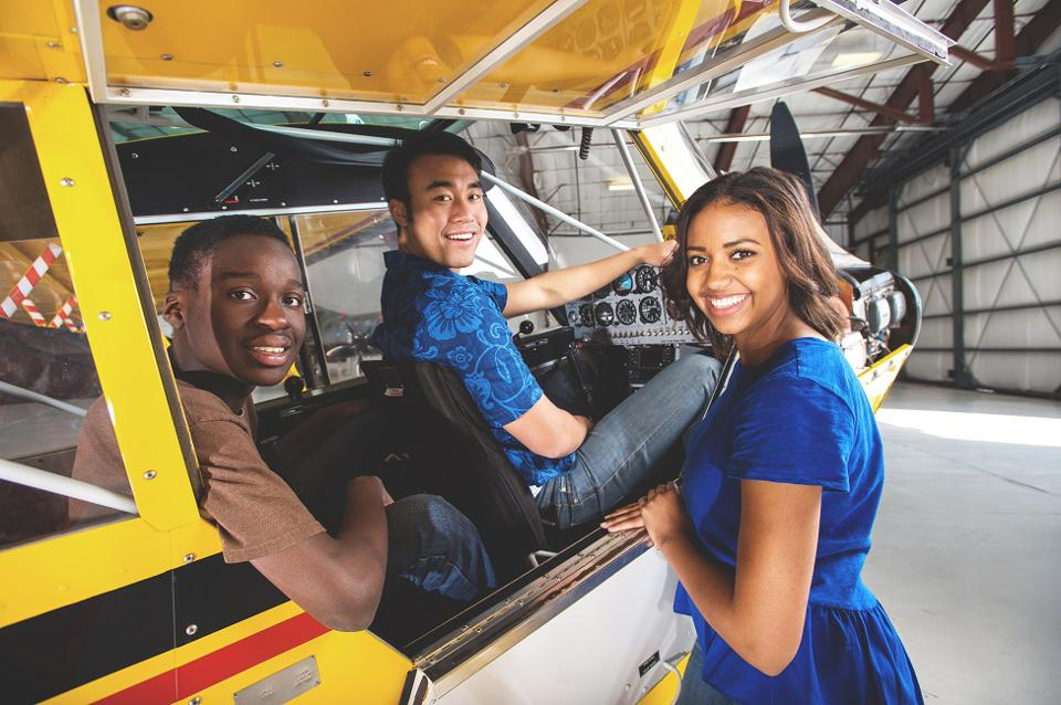 The aviation education initiative is a growing part of Exploring, a program offered through Learning for Life, an affiliate of the Boy Scouts of America.