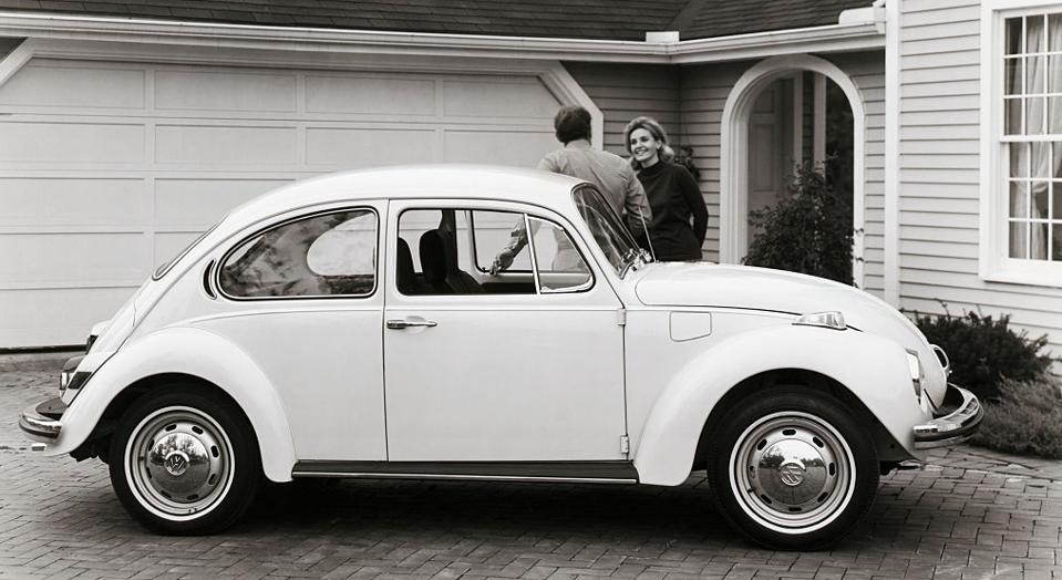 The 1972 Volkswagen Super Beetle.