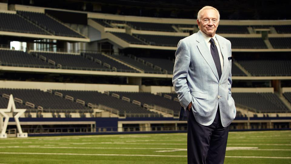 Jerry Jones owns the Dallas Cowboys—the first team in any sport worth $5 billion.