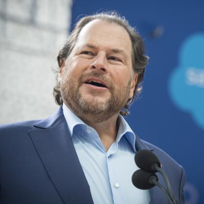 Image result for marc benioff