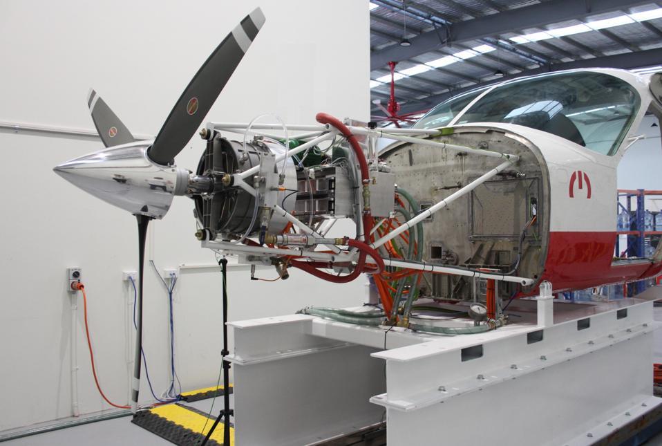 MagniX's Cessna test rig