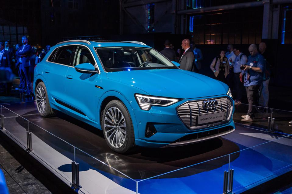 Audi S Electric Vehicle Strategy Includes Four New Models Over Next Two Years