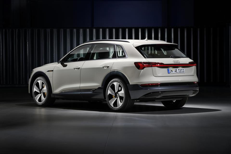 The new e-tron SUV will be available next Spring at a whopping starting price of around $75,000.