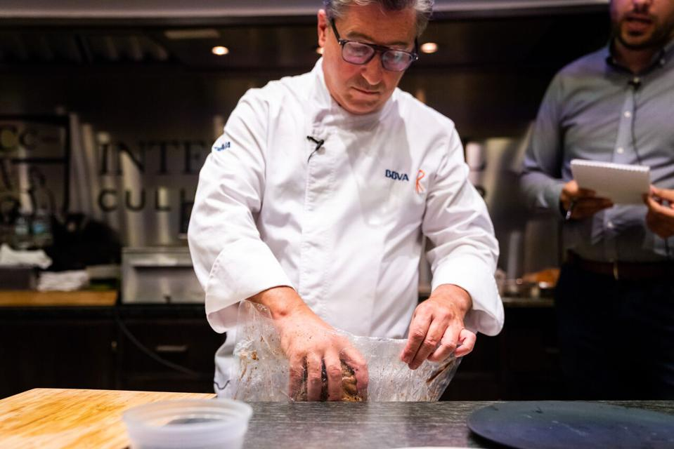 Chef Roca is widely regarded as one of the pioneers of sous vide.