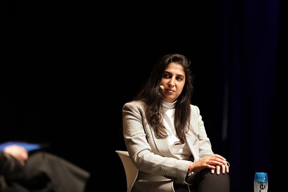 nVision Medical founder and CEO Surbhi Sarna at the 2018 Forbes Under 30 Summit in Boston.