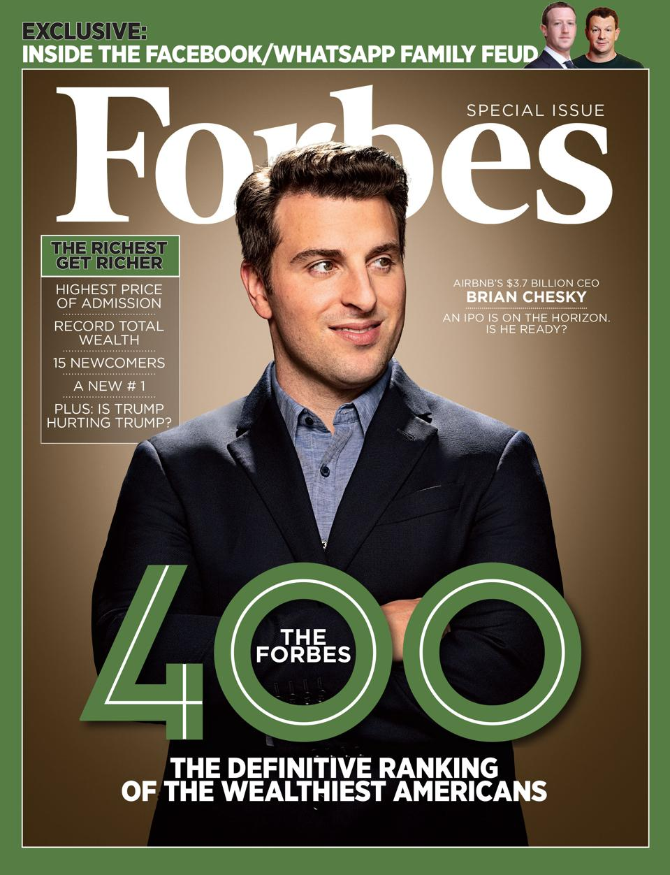 The October 31, 2018 issue of Forbes.