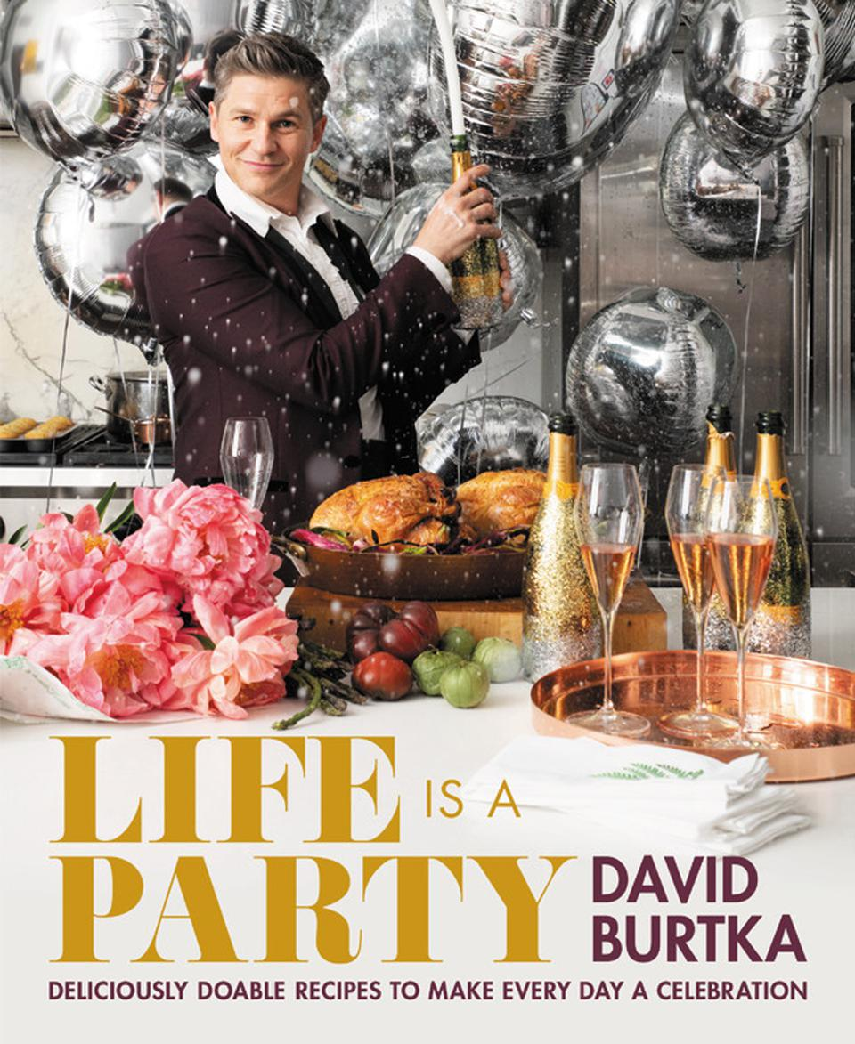 David Burtka's first cookbook, 'Life Is a Party,' comes out in May.