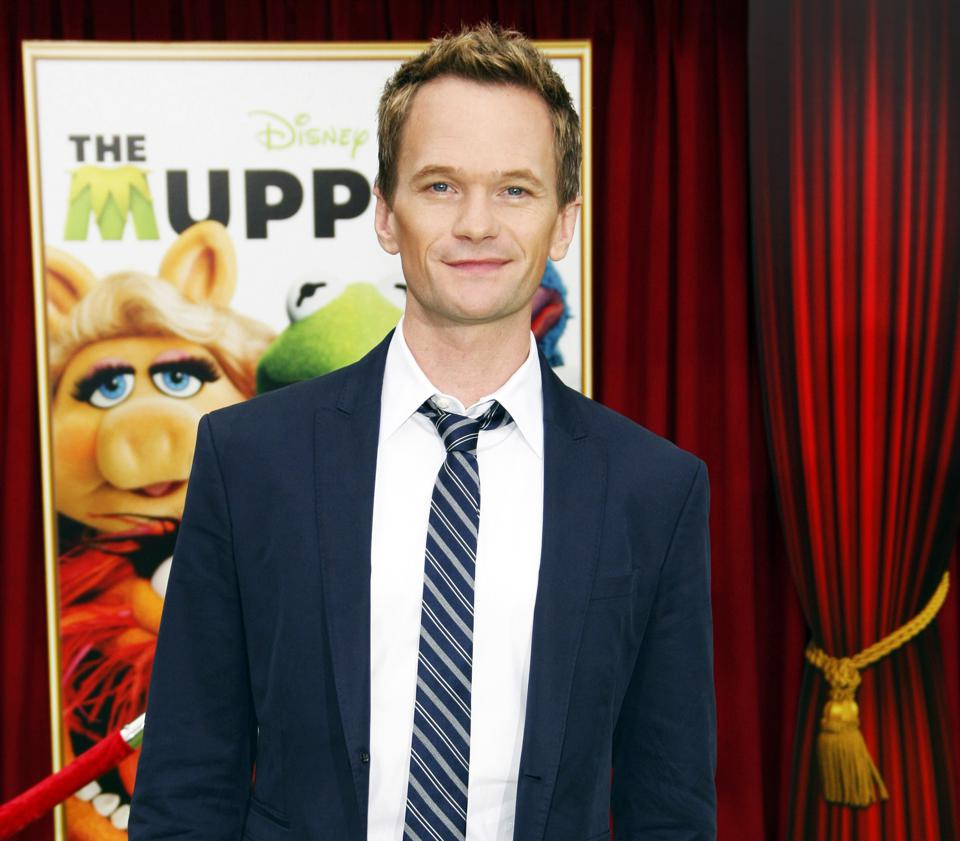 Neil Patrick Harris at the premiere of 'The Muppets' in 2011.