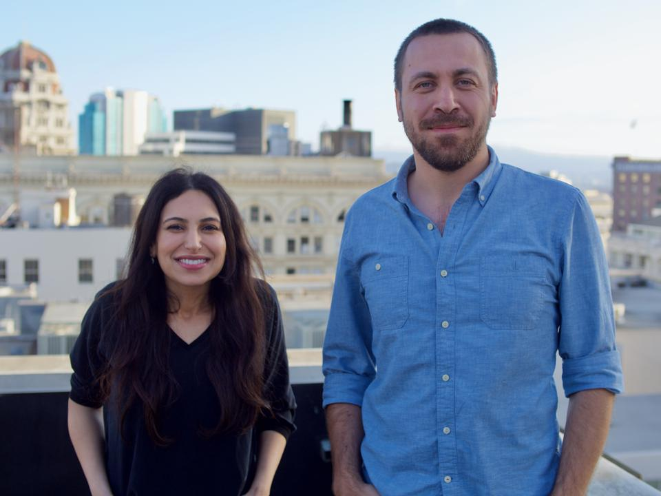 Qordoba founders May Habib and Waseem AlShikh moved to San Francisco to grow their startup.