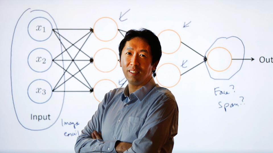 Coursera cofounder Andrew Ng co-chairs the board and still teaches Coursera classes on artificial intelligence and machine learning.