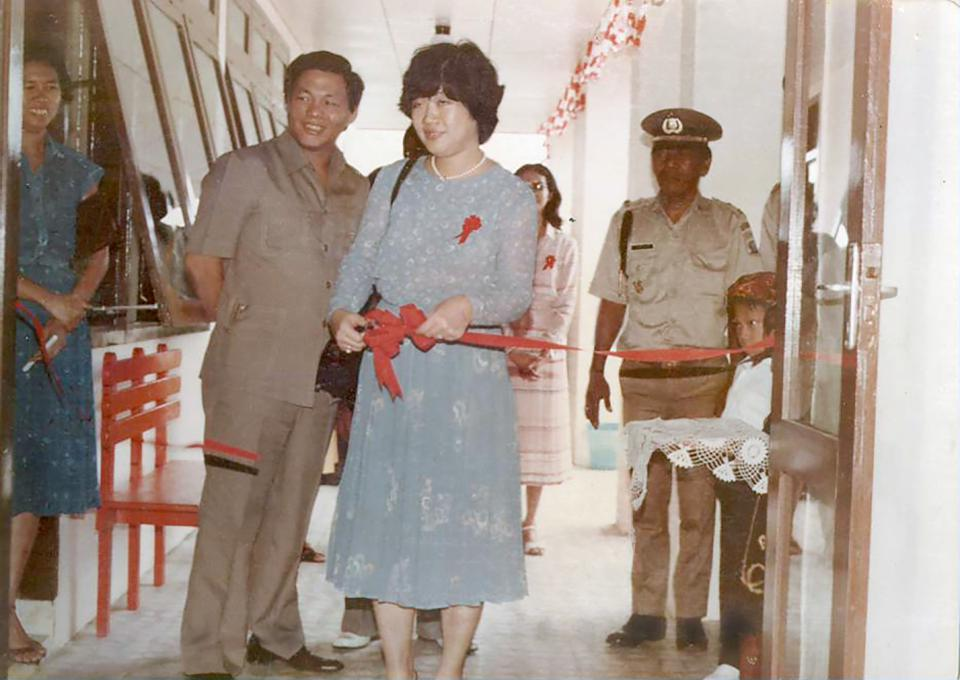 First school in Besitang opened by Sukanto and Tinah Bingei Tanoto