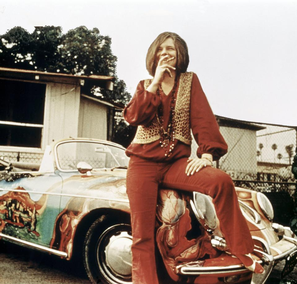 Lord, Won't You Buy Me a 356: Janis Joplin with her Porsche.