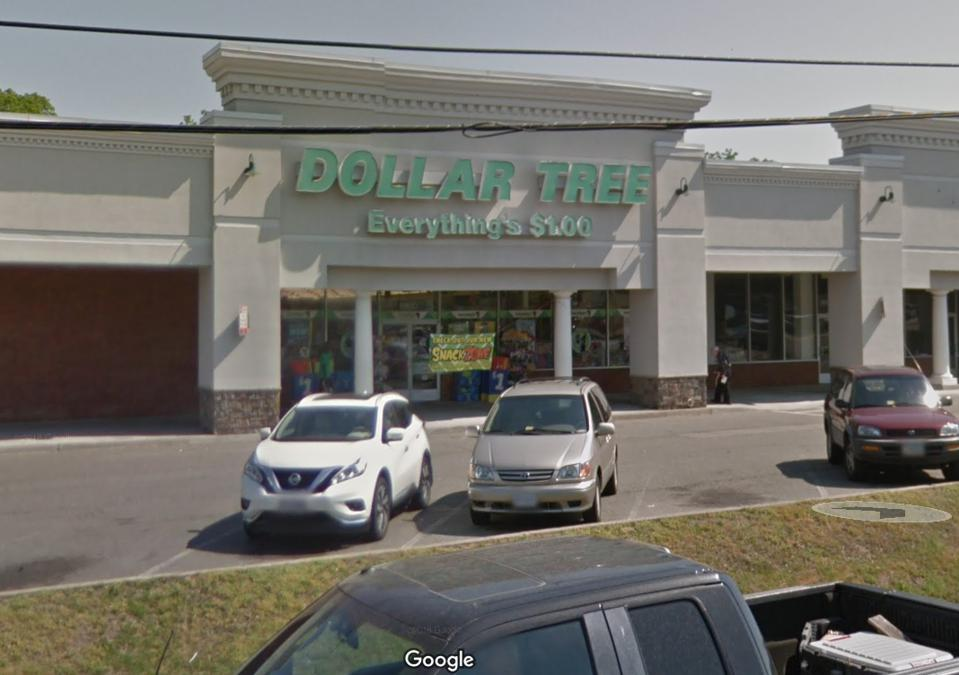 The Dollar Tree in Hernico, Virginia was targeted by a spate of robberies investigated by the FBI.