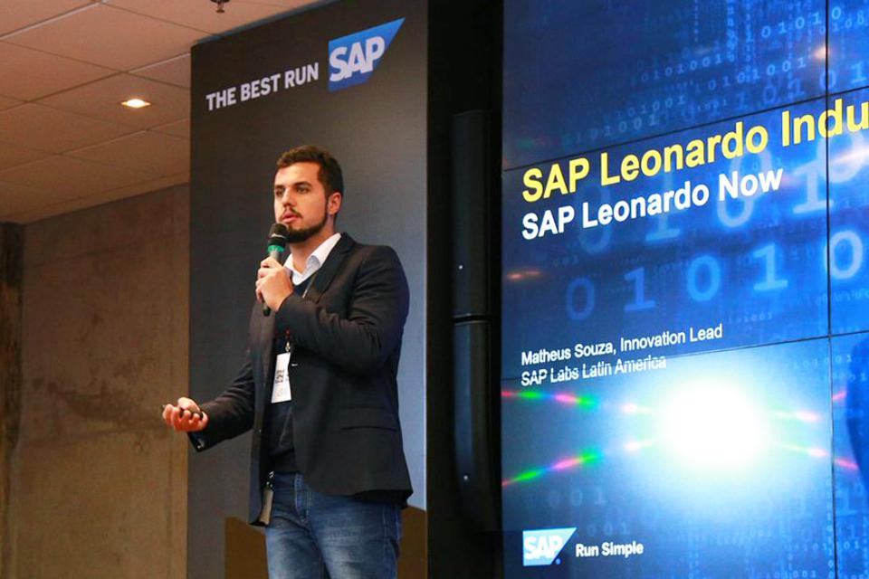 """""""Often during Explore, there are company departments who've never talked to each other before,"""" SAP's Matheus Souza said at SAP Labs Latin America. """"When they get together in the same room, one can understand the other's point of view."""""""