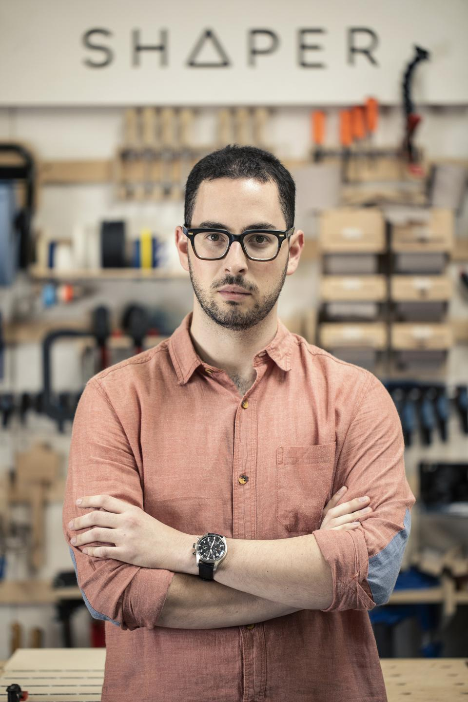 Blum wasn't only a woodworker as a kid, however. He was also a natural entrepreneur who had started two companies—a video production one and a computer repair one—by the time he was 13.