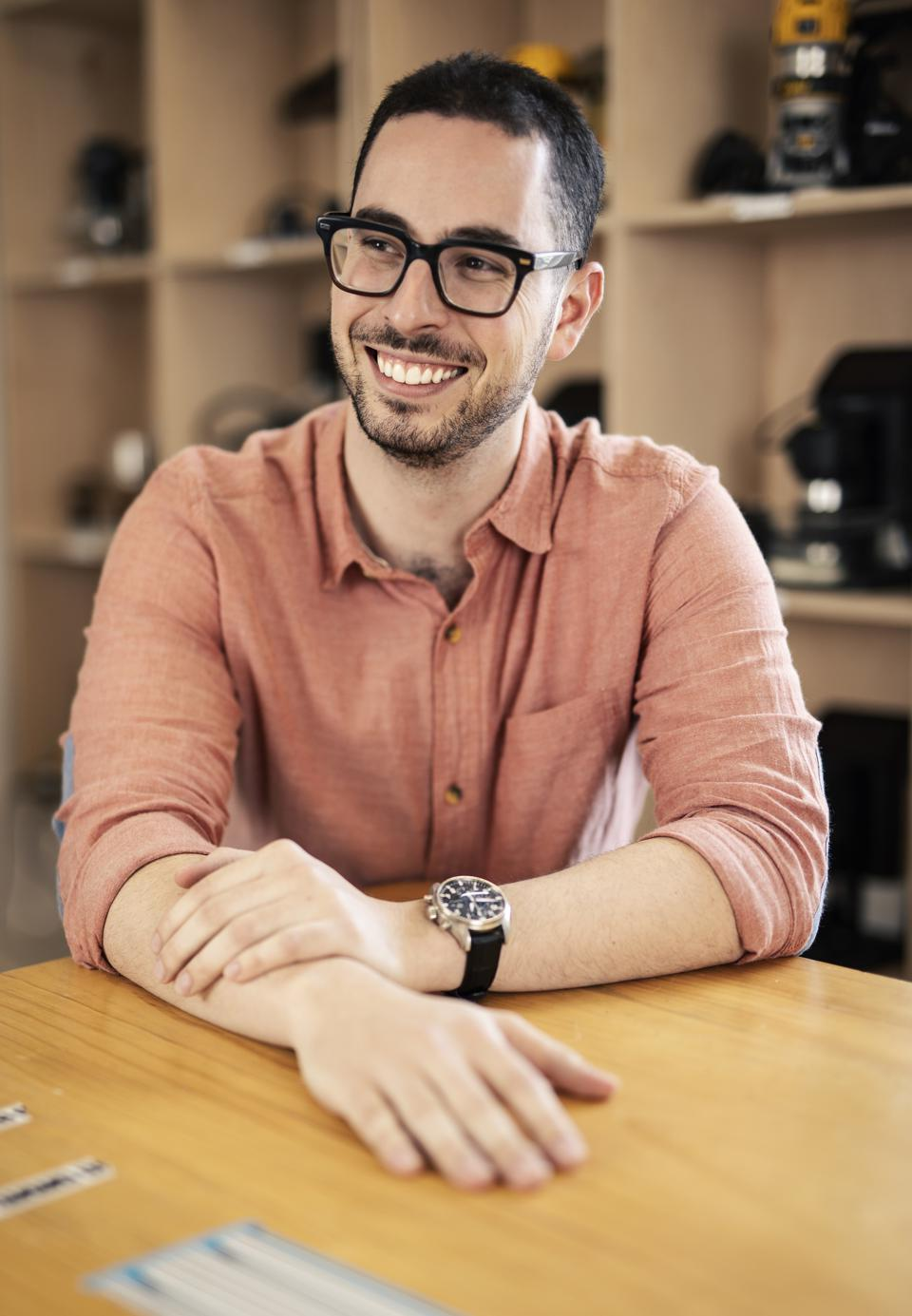 Blum is just getting started. He recently won Forbes' 30 Under 30 list honors as a top innovator in the Manufacturing & Industry category.