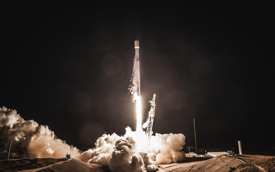 A SpaceX launch on February 22, 2018 delivered two prototype Starlink satellites into orbit.