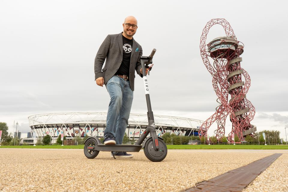 Bird Brings Electric Scooters To Britain By Exploiting Legal