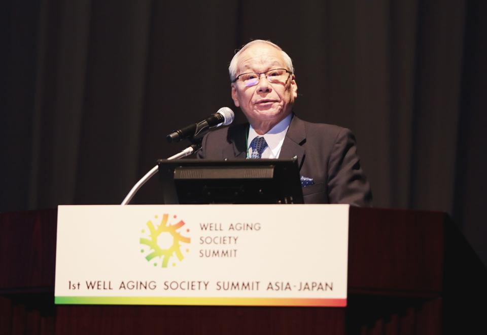 Aging in Japan is a chance for growth, says Japan Medical Association President Yoshitake Yokokura.