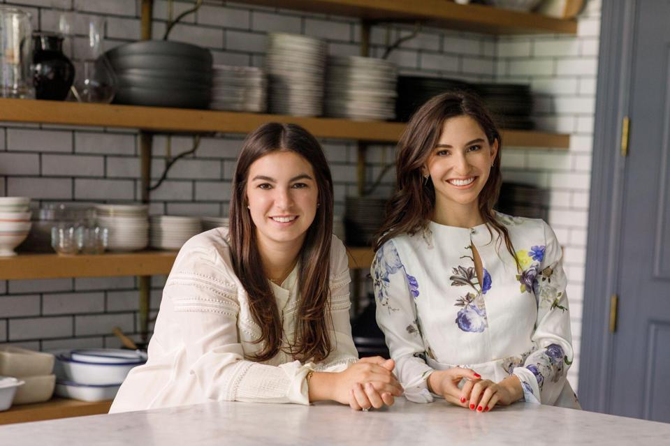 Great Jones founders Maddy Moelis (left) and Sierra Tishgart were named to the Forbes 2019 30 Under 30 Food & Drink list.