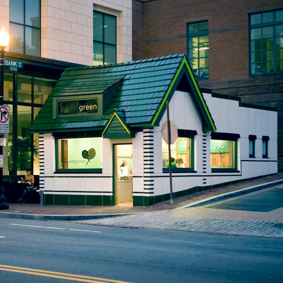 Sweetgreen's store in Georgetown, Washington, D.C.
