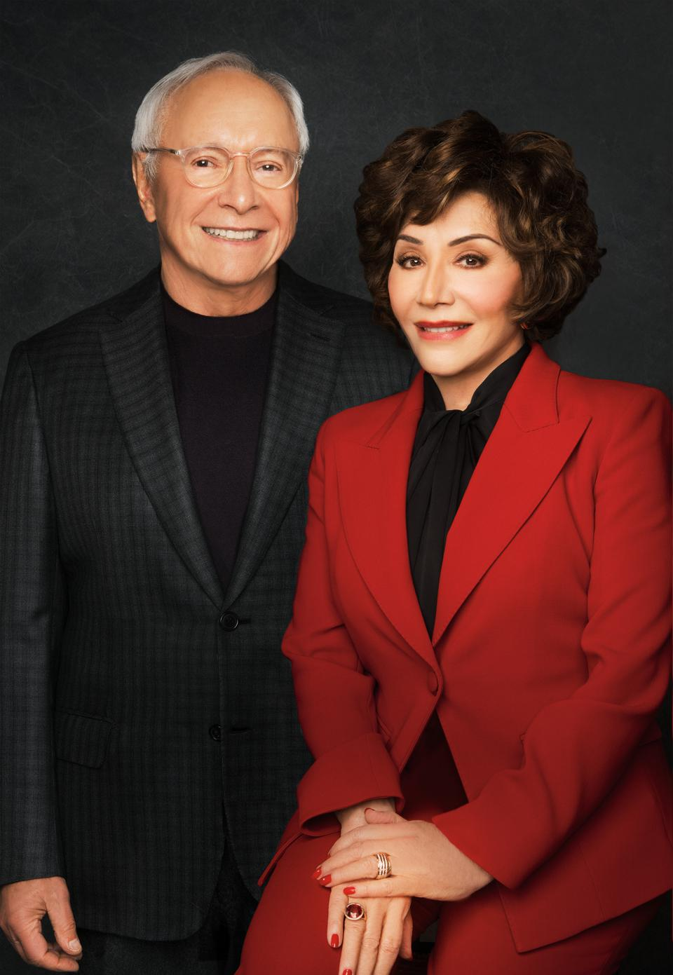 Stewart and Lynda Resnick, the billionaire owners of The Wonderful Company.