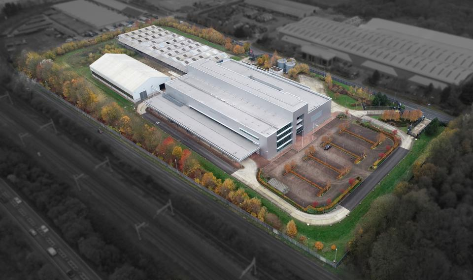 Rebellion has secured a 215,000 sq ft facility just outside Oxford which will be transformed into one of the U.K.'s largest movie studios.