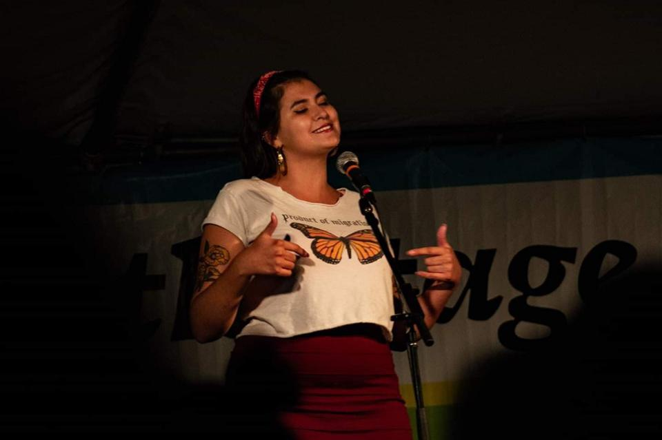 Burque Revolt is Albuquerque's intergenerational poetry organization that connects youth, college students, and adults using the power of spoken word and writing.