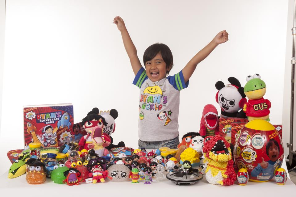 How This 7-Year-Old Made $22 Million Playing With Toys