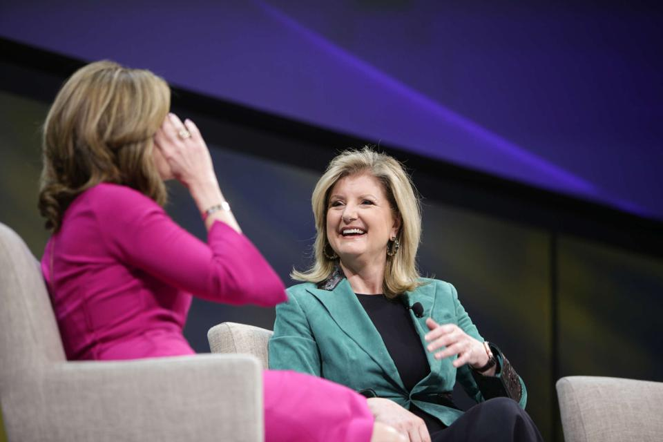 """I'm passionate about never using the word 'well-being' without using the word productive next to it,"" said Arianna Huffington at the annual SAP SuccessConnect event in Las Vegas."