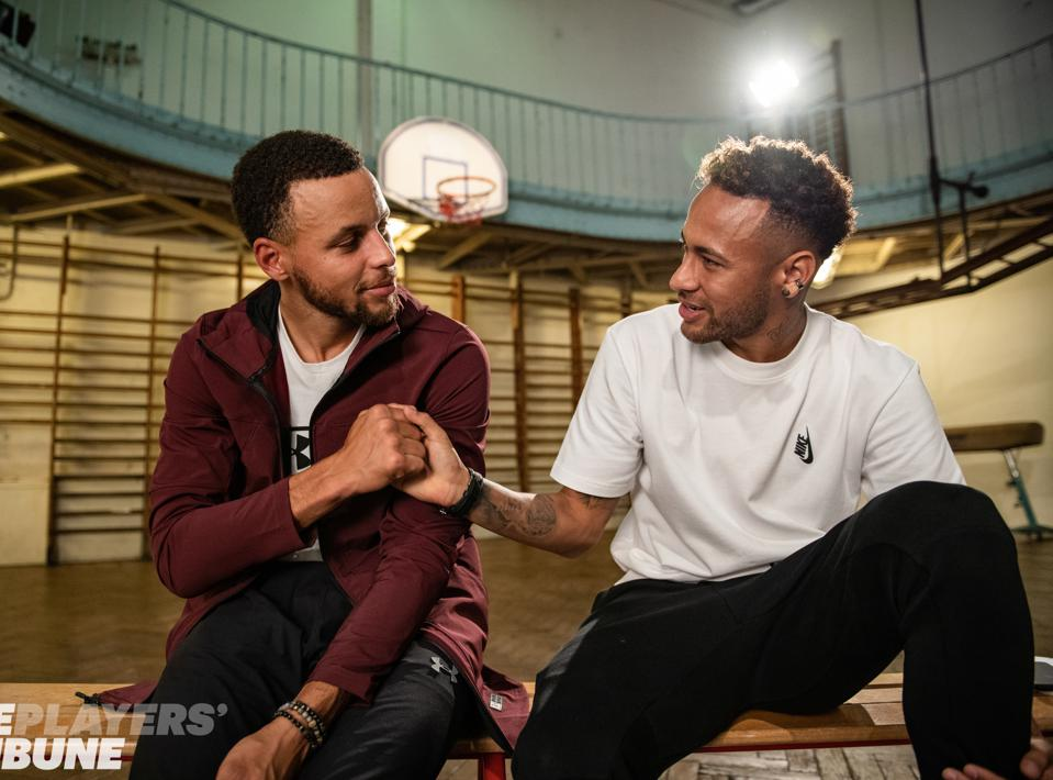 The Players' Tribune has increasingly been involved in producing original content with partner athletes like Neymar, Steph Curry and others.