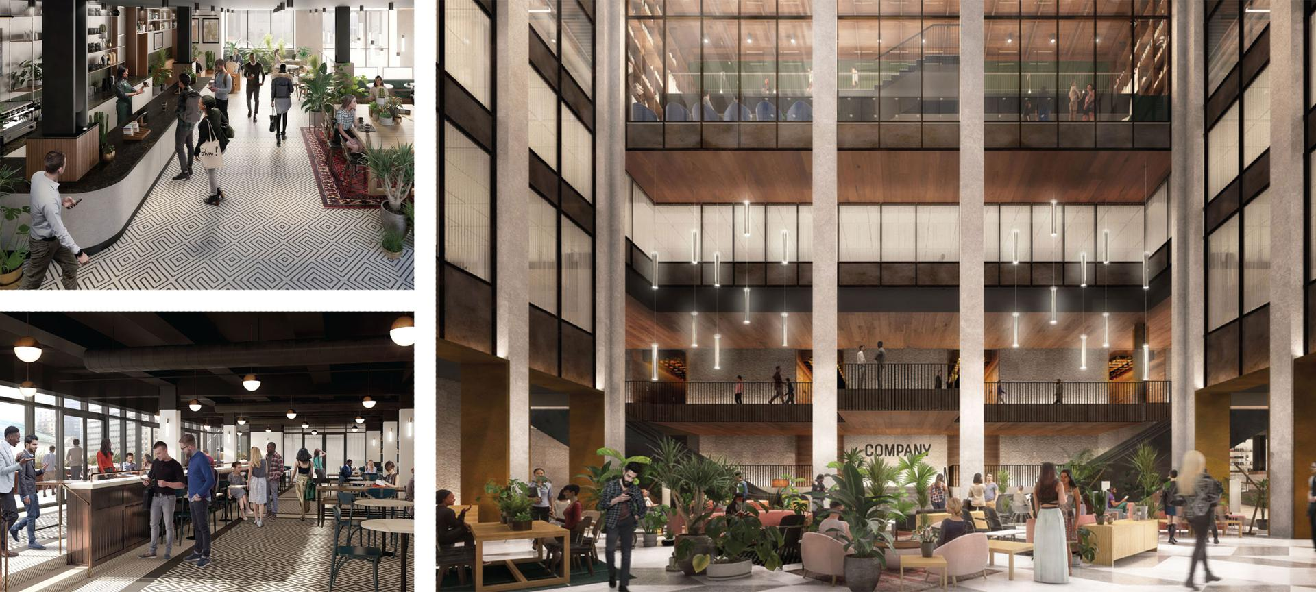 Company is renovating the entire building at 335 Madison Avenue to include 250,000 square feet of startup office space, 700,000 square feet of space for bigger companies and 150,000 square feet for amenities including a lobby coffee bar and